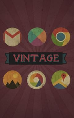 vintage icon pack- Best icon packs for android - What are the Best Android Icon Packs? - Top 10 Best Paid Icon Packs for Android