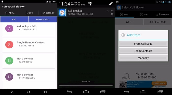 Safest-Call-Blocker- Simple call blocker app for Android - How to Block Calls on Android - Best call blocker apps for Android
