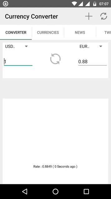 currency converter pocketools - best currency converter app for Android - free currency app for Android - currency exchange app