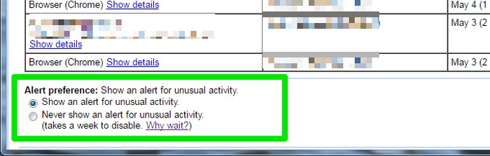 Gmail-last-activity-Select-notification - See Your Gmail Account Activity to Detect Suspicious Activity in Gmail