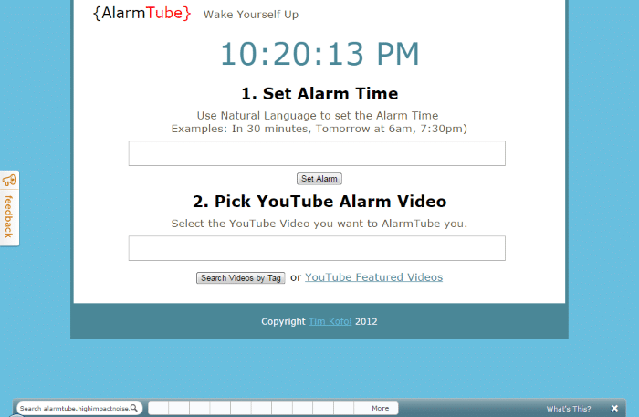 AlarmTube - Loud Alarm Clock Online: Top 8 Best Free Online Alarm Clock for Heavy Sleepers