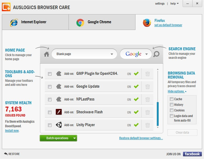 Auslogics-Clean-browser-hijackers - 5 Best Free web Browser Cleaner Tools to Clean Your Browser