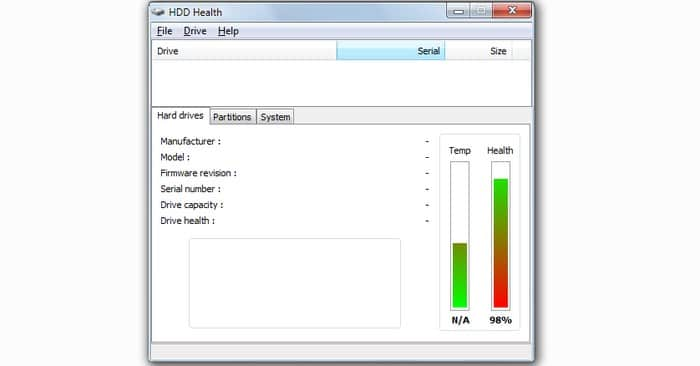 Hard-Disk-Heallth-Monitor-Hard-Drive - Check Hard Drive Health - Best Hard Drive Health Monitoring Tools to Check Hard Drive Health