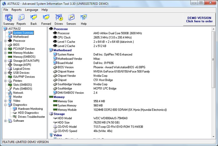 ASTRA32-Windows-system-information-app - Best Free System Information Utilities to Check System Information - How to Find System Specs on Windows 7