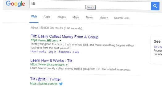 tilt-google - Google Search Tips and Tricks