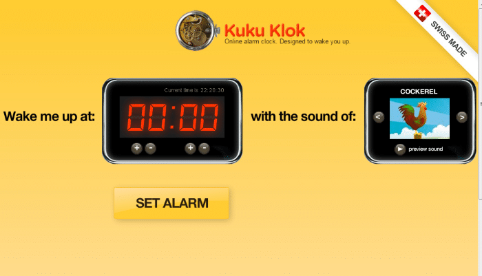 Kukuklok - Loud Alarm Clock Online: Top 8 Best Free Online Alarm Clock for Heavy Sleepers