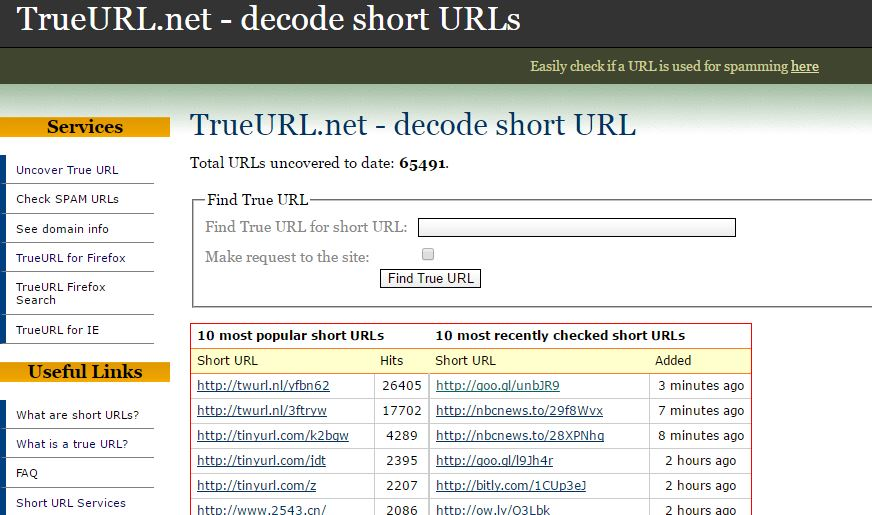 TrueURL Short URL Decoder - Decode URL Online: 6 Best Online URL Decoder to Know Original URL
