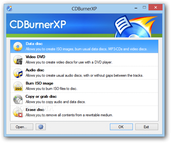 CDBurnerXP - Best DVD Burning Software - Top 10 Best DVD Burning Software to Burn a CD Easily [Free & Paid]