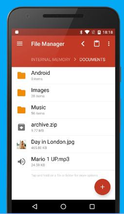 gira file manager - best file manager apps for Android - Best Android File Manager & Explorer Apps for Better File Management