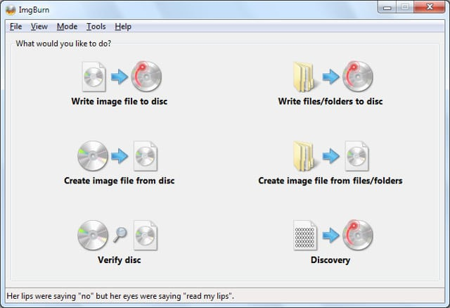imgburn - Best DVD Burning Software - Top 10 Best DVD Burning Software to Burn a CD Easily [Free & Paid]
