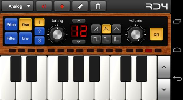 rd4 groovebox - music making app - GarageBand for Android: 7 Amazing Best Music Making Apps for Android