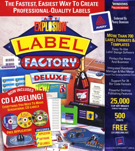 Label Factory Deluxe - Label Maker Software and Tools - Top 10 Best Label Maker Software and Tools to Make Custom Labels