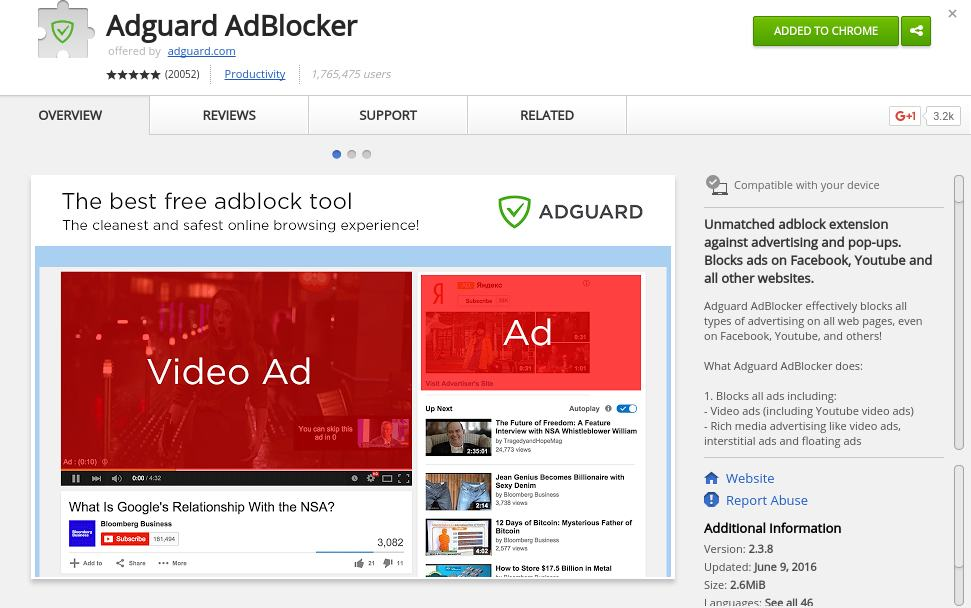 adblocker - video ad blocker - Best Chrome Extensions to Protect Privacy - Best Security Extensions for Chrome