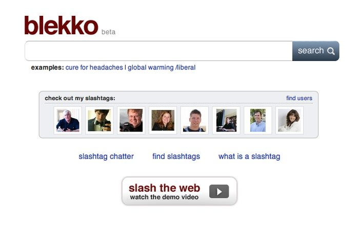 Blekko - Google Alternatives: Top 10 Best Search Engines Other than Google