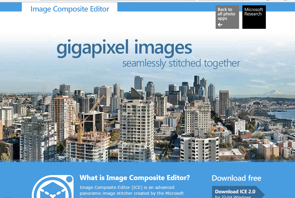 Microsoft Image Composite Editor - Best Photo Stitching Software - Photo Stitch for Mac and Widows - Panorama Photo maker - Top 10 Best Photo Stitching Software for Panorama Photography
