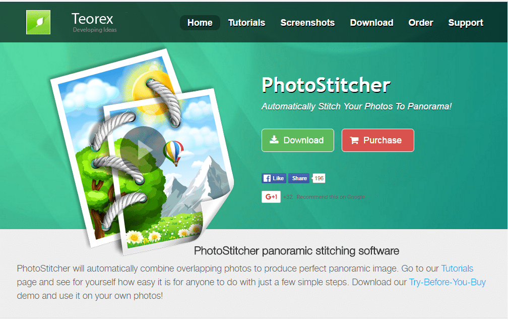 PhotoStitcher - Best Photo Stitching Software - Photo Stitch for Mac and Widows - Panorama Photo maker - Top 10 Best Photo Stitching Software for Panorama Photography