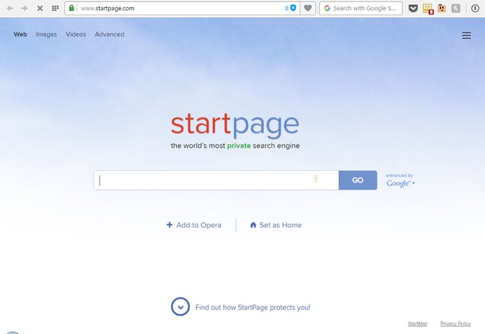 Startpage - Google Alternatives: Top 10 Best Search Engines Other than Google