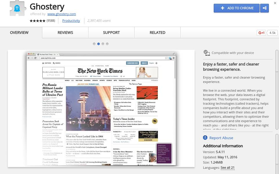 ghostery - Best Chrome Extensions to Protect Privacy - Best Security Extensions for Chrome