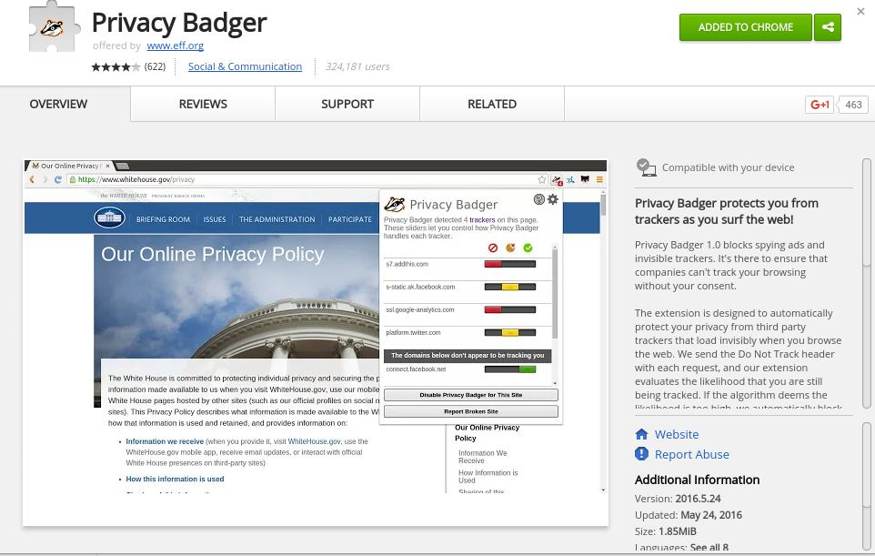 privacy badger - Best Chrome Extensions to Protect Privacy - Best Security Extensions for Chrome