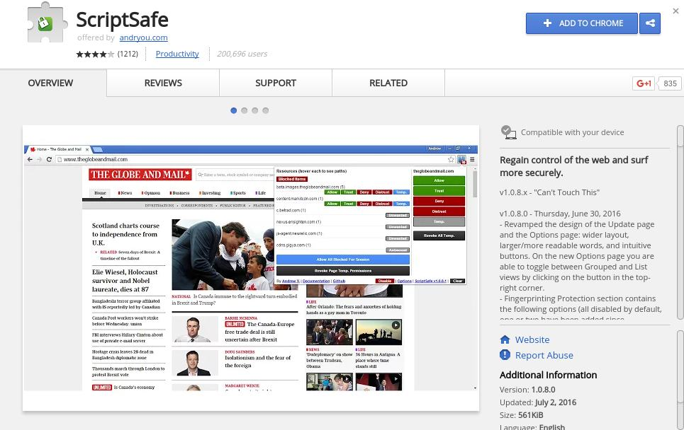 script safe - chrome extension to protect privacy - Best Chrome Extensions to Protect Privacy - Best Security Extensions for Chrome