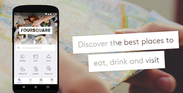 foursquare - Food Near Me - Find Restaurants for Chinese, Mexican, Thai, Fast Food Delivery Near Me