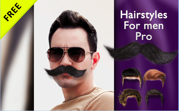 hairstyles-for-men-pro - Top 7 Best Hair Styler App for Android to Try Different Hair Styles