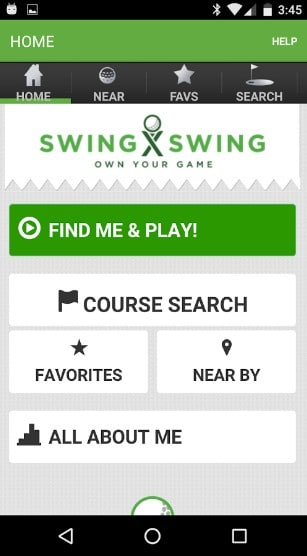 swing swing - best golf apps for android - Best Golf Apps for Android - Best Golf GPS App for Android