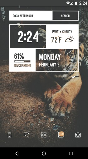 zooper widget - Best Clock Widgets for Android - Top 8 Best Clock Widgets for Android to Better Customize Home Screen