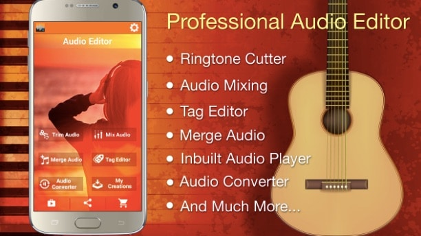 Audio mp3 Cutter Mix Converter - Best Ringtone Downloading Apps for Android for Free Ringtone Downloads