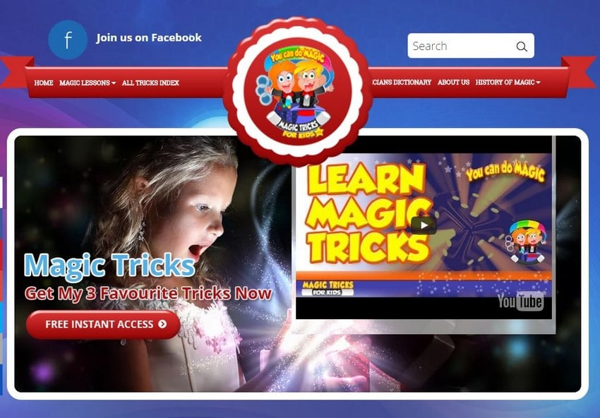 Magic Tricks for Kids - Best Magic Trick Sites - Excellent Free Magic Tricks Sites to Learn Secret Magic Tricks & Hacks