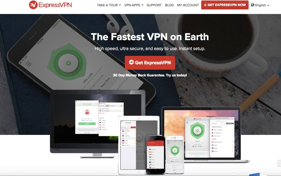 ExpressVPN - Top 10 Best VPN Service Providers for Highly Secured Private Internet Access