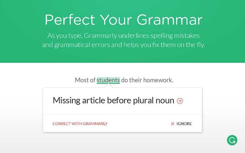 grammarly - Best Chrome Extensions - Best Chrome Extensions for WordPress Users