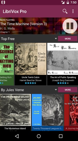 libribox pro - audiobooks app for Android - Best Audiobook App - Top 7 Best Audiobook Apps for Android