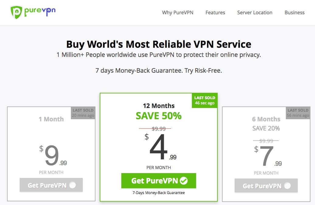 PurVPN Review - Most Trusted VPN Service Provider Plans and Pricing Comapred