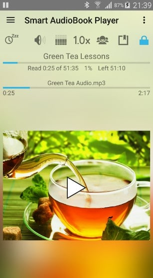 smart audiobook player - best audiobook apps for Android - Best Audiobook App - Top 7 Best Audiobook Apps for Android