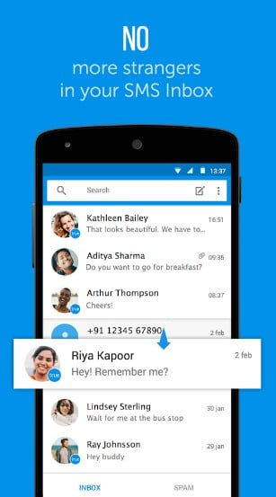 truemessenger - Top 6 Best SMS Apps for Android to Block Spam Text Messages