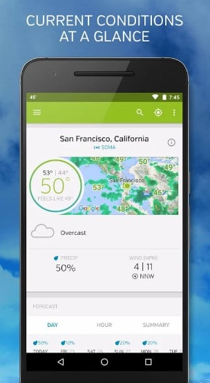 weather underground - best weather widgets for Android - Best Android Weather Apps - Best Weather Widgets for Android