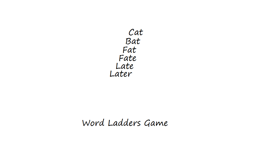 Word Ladders-Funny Pen and Paper Games to Play on Paper - Games to Play With Friends