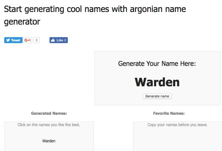 Argonian Name Generator - Skyrim Name Generator - Best Skyrim Name Generators for Argonian, Dark Elf and Nord Names