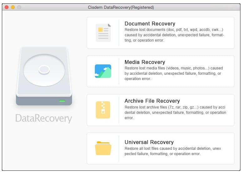 cisdem-datarecovery-3 - What is the best Data Recovery Software for Mac - Top 6 Best Data Recovery Software for Mac Users