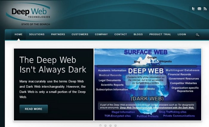 Deep Web Technolgies Hidden web search engine - Top 10 Best Deep Web Search Engines to Explore Hidden Web