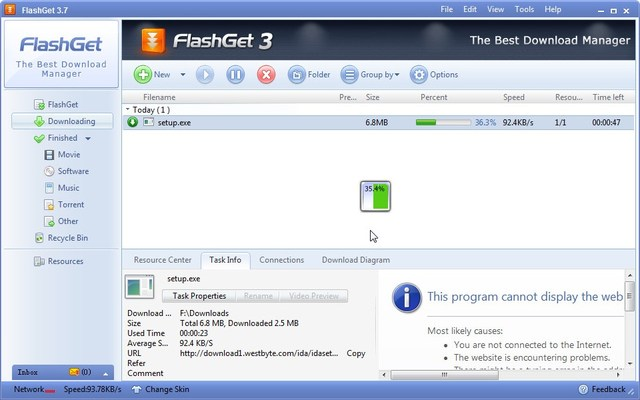 flashget - Best Download Manager - 8 Best Download Managers for Windows to Manage Downloads Easily