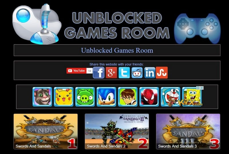 Unblokced Games Room At School - How to Play Unblocked Games at School? - Best Websites to Play Unblocked Games and GEO Restricted Games