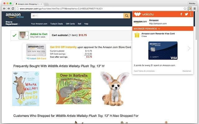 wallaby - Best Chrome Extensions for Online Shoppers - Best Chrome Extensions to Save Money while Shopping Online