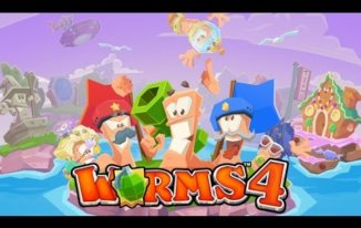 Worms 4 - Best Multiplayer Games for iPhone - Best Multiplayer iPhone Games - Multiplayer Games to Play with Friends