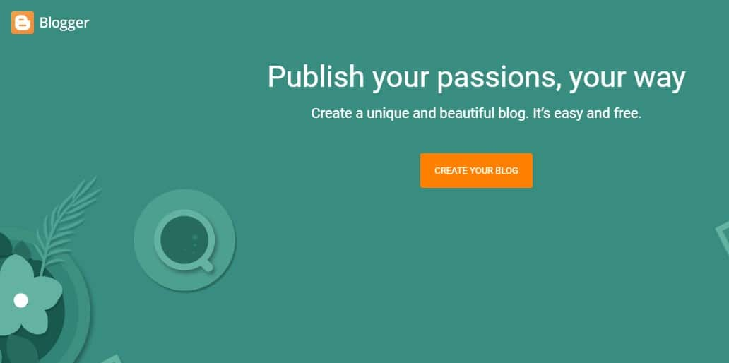 blogger - Sites Like Tumblr: Top 10 Best Sites Like Tumblr to Start Blogging for Free