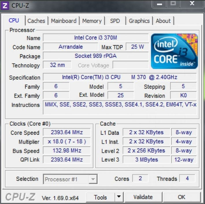 CPU-Z Portable - Best CPU Temp Monitor Software - Top 10 Best CPU Temp Monitoring Programs to Monitor CPU Temperature