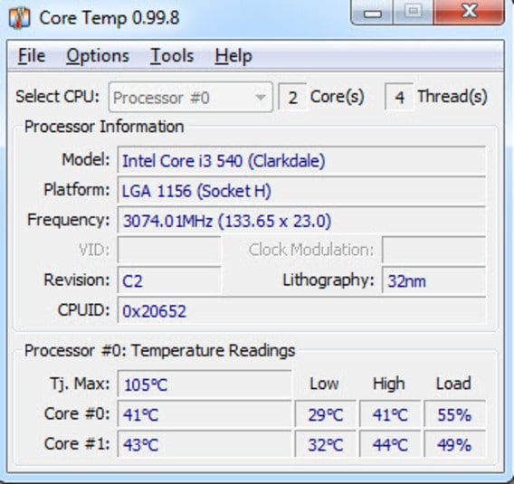Core Temp - Monitor CPU Temp - Best CPU Temp Monitor Software - Top 10 Best CPU Temp Monitoring Programs to Monitor CPU Temperature