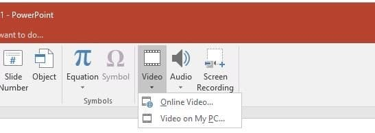 can you embed video in a pdf