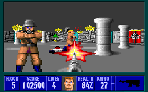 Best Dos Games Castle Wolfenstein 3D - Best Dos Games of All Time -17 Best DOS Games of All Time that You can Play Now for Free